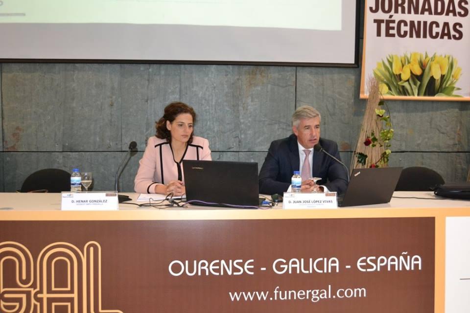 Conferencia de Panasef en Funergal