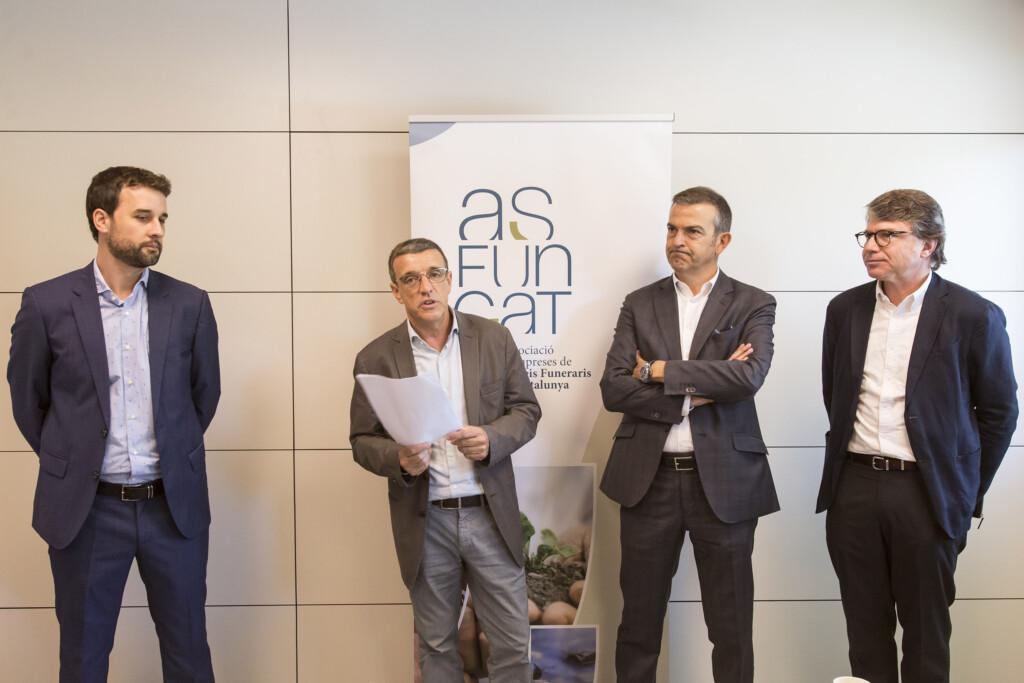 Josep Mª Mons, presidente de Asfuncat  (c) Berta Tiana