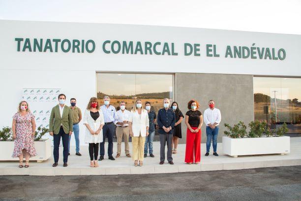 Inauguración Tanatorio comarcal de El Andévalo (Foto.: Huelvabuenasnoticias.com)