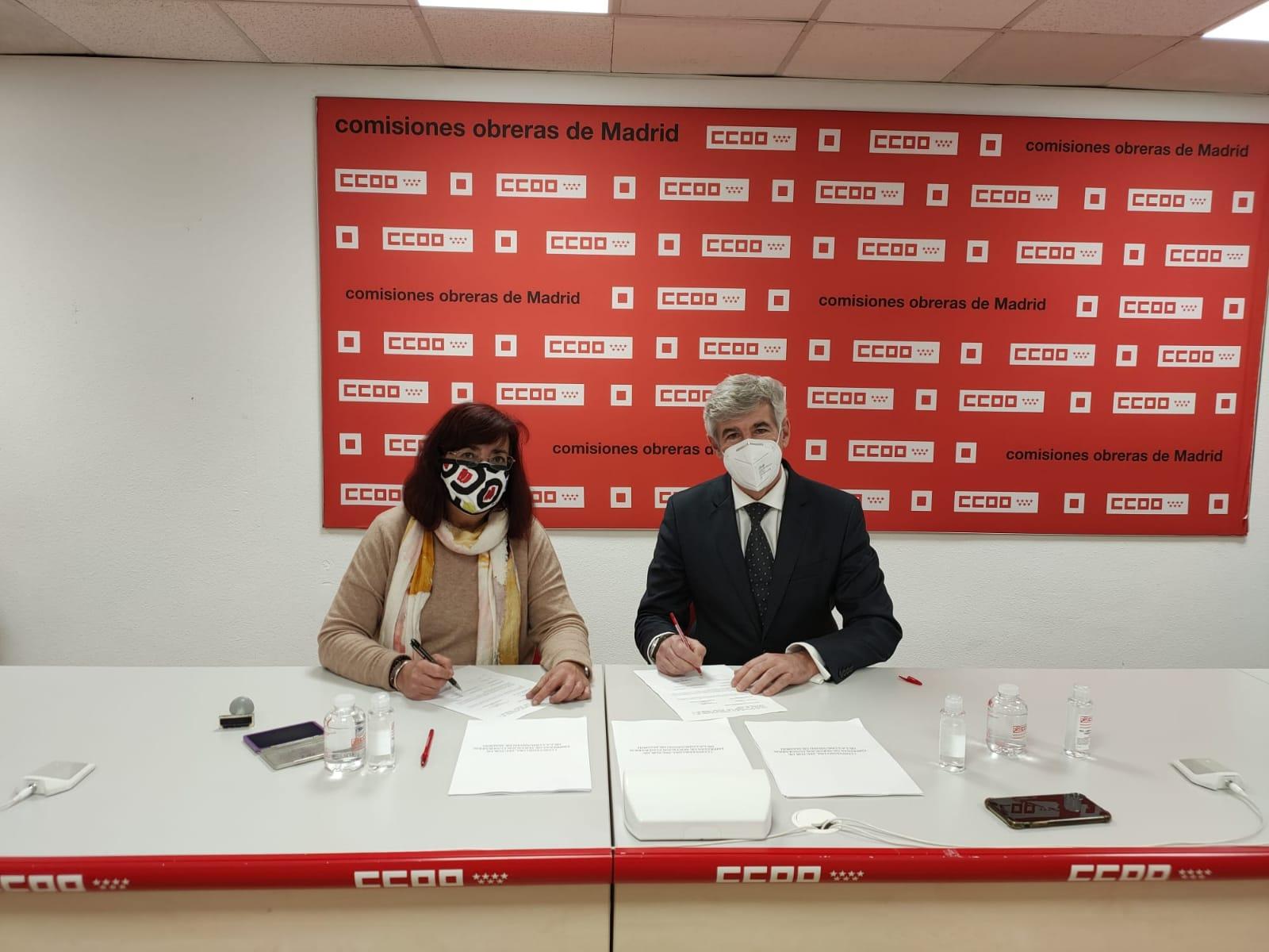 Firma Convenio Colectivo Madrid